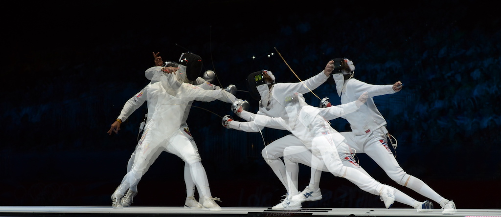 Epee fencing 2012 Olympic Gold Medal Bout