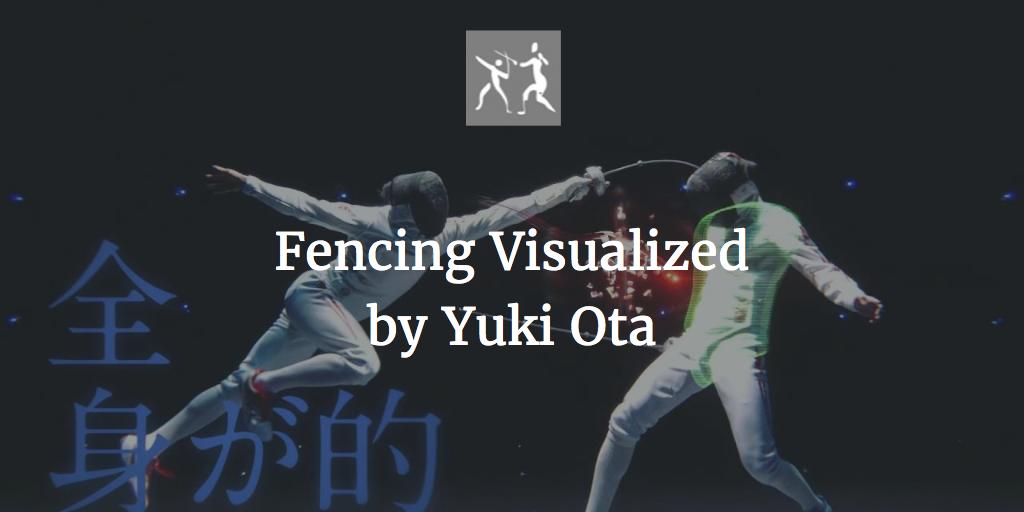 more enjoy fencing video by Yuki Ota