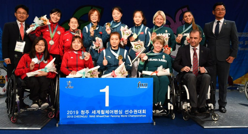 IWAS World Championships Women's Epee Team