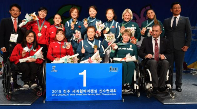 IWAS World Championships Women's Epee Team