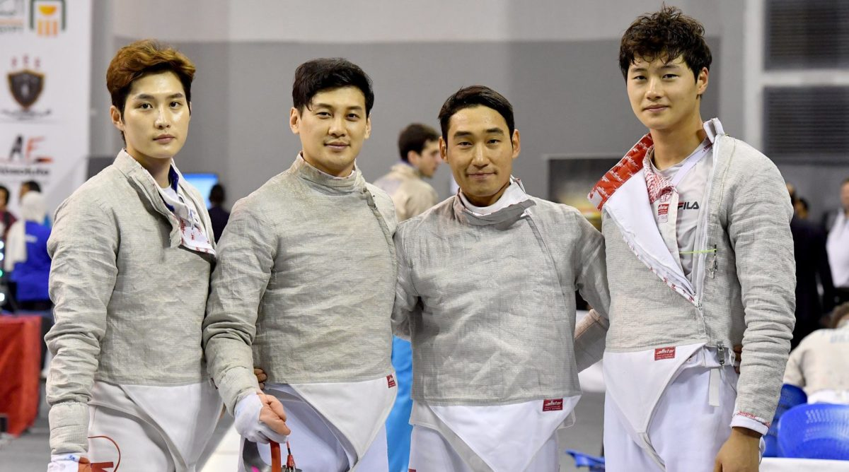 South Korea Men's Saber Team